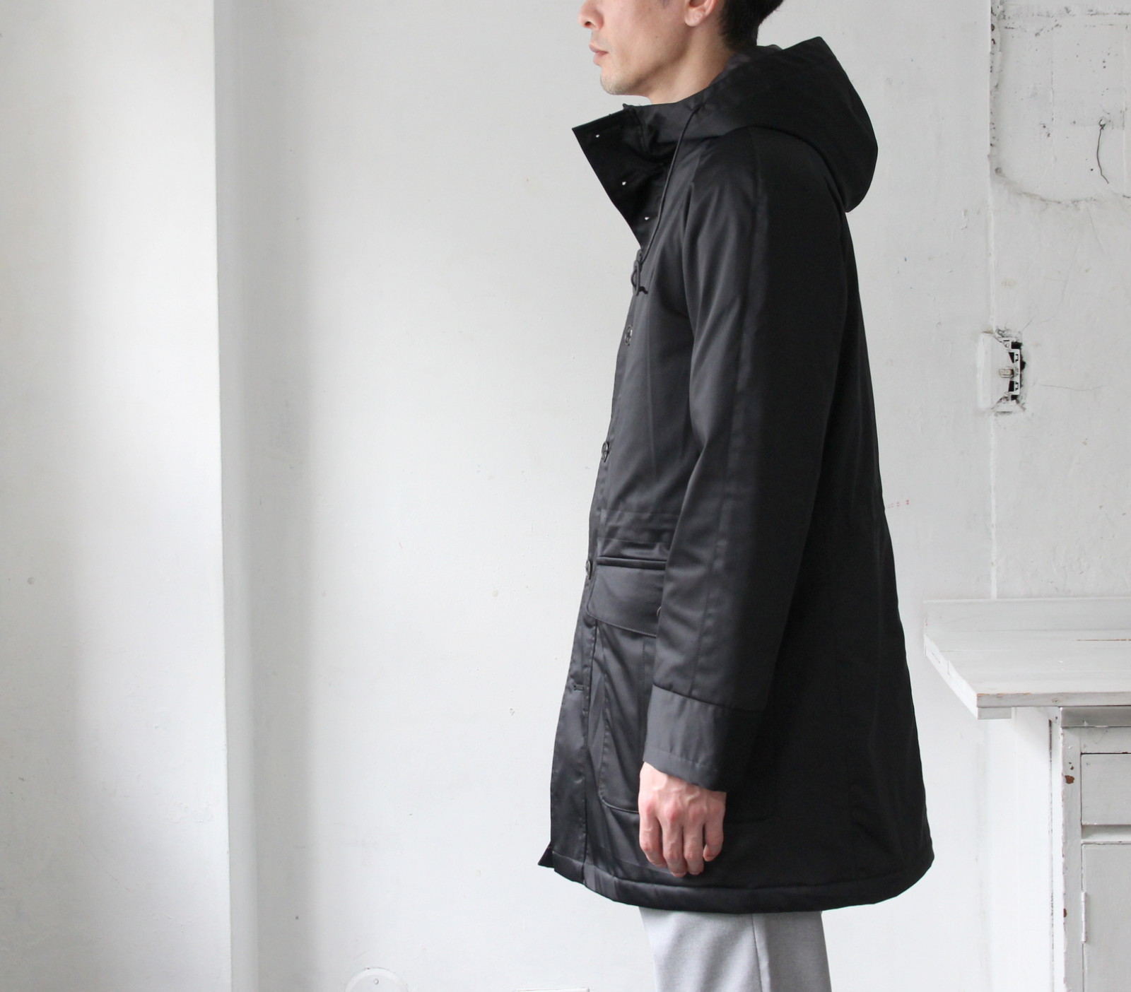 Thin Down Winter Mods Coat_c0379477_18572779.jpg