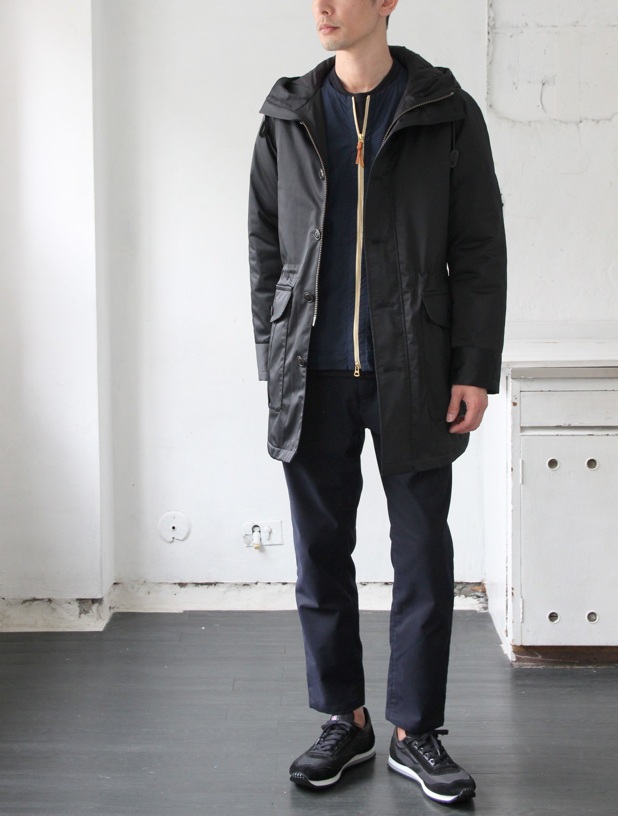 Thin Down Winter Mods Coat_c0379477_18574174.jpg
