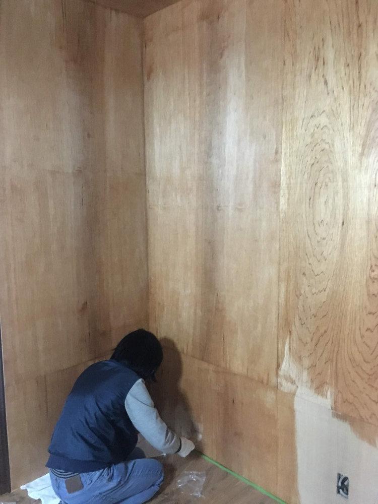 事務所の床塗装 ビフォーアフター_b0349892_17524228.jpg