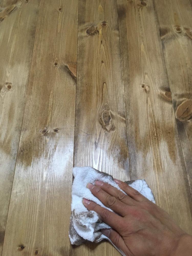 事務所の床塗装 ビフォーアフター_b0349892_17524374.jpg