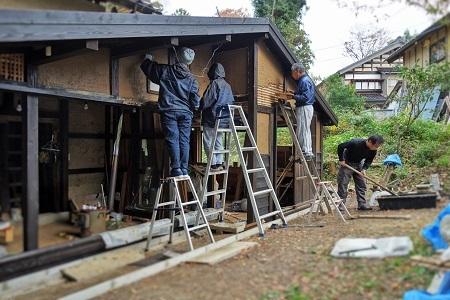 木工小屋の整備  2018.11.16_c0213599_12574230.jpg