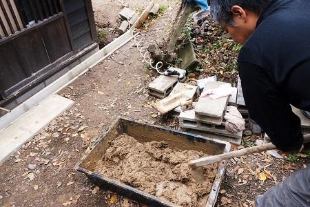 木工小屋の整備  2018.11.16_c0213599_12581931.jpg