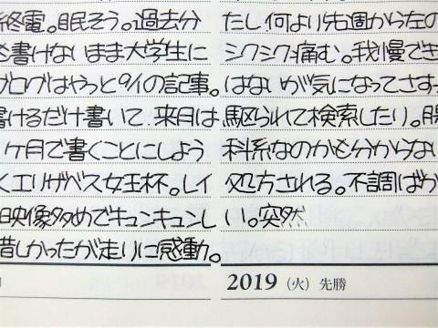 猫町と3年日記・その31(3年日記専用ボールペン2本目終了)。_f0220714_22570356.jpg