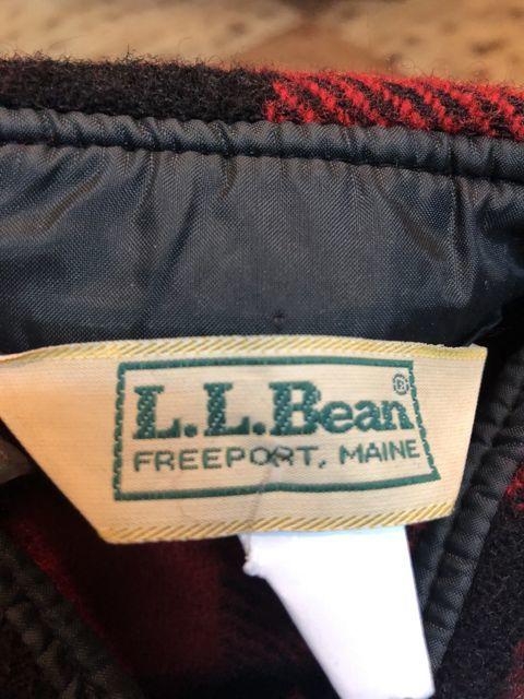 11月17日(土)入荷!80s L.L Bean WOOL シャツ! _c0144020_14445327.jpg