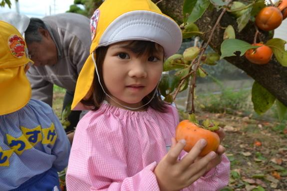 柿収穫と表彰式♪_e0125433_15073704.jpg