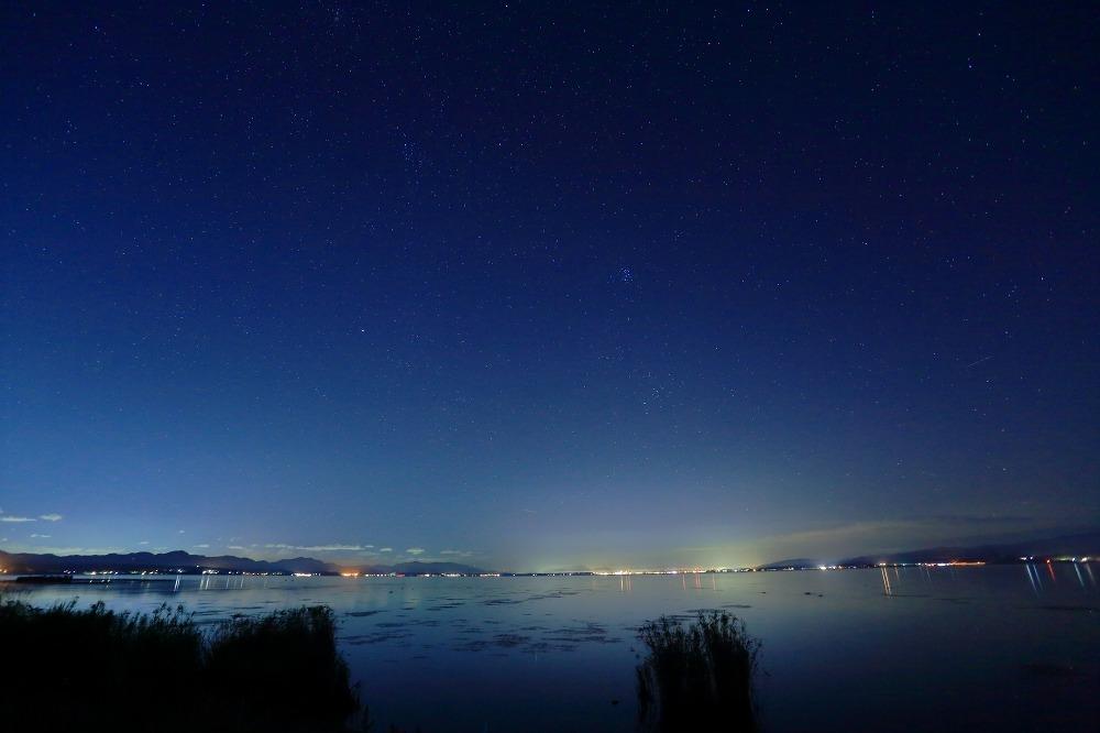 湖畔 朝と夜_a0294534_20410400.jpg