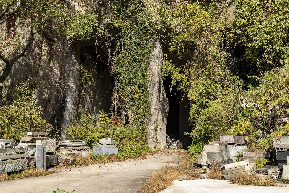 滝ヶ原石採掘石切り場_f0297537_15564666.jpg