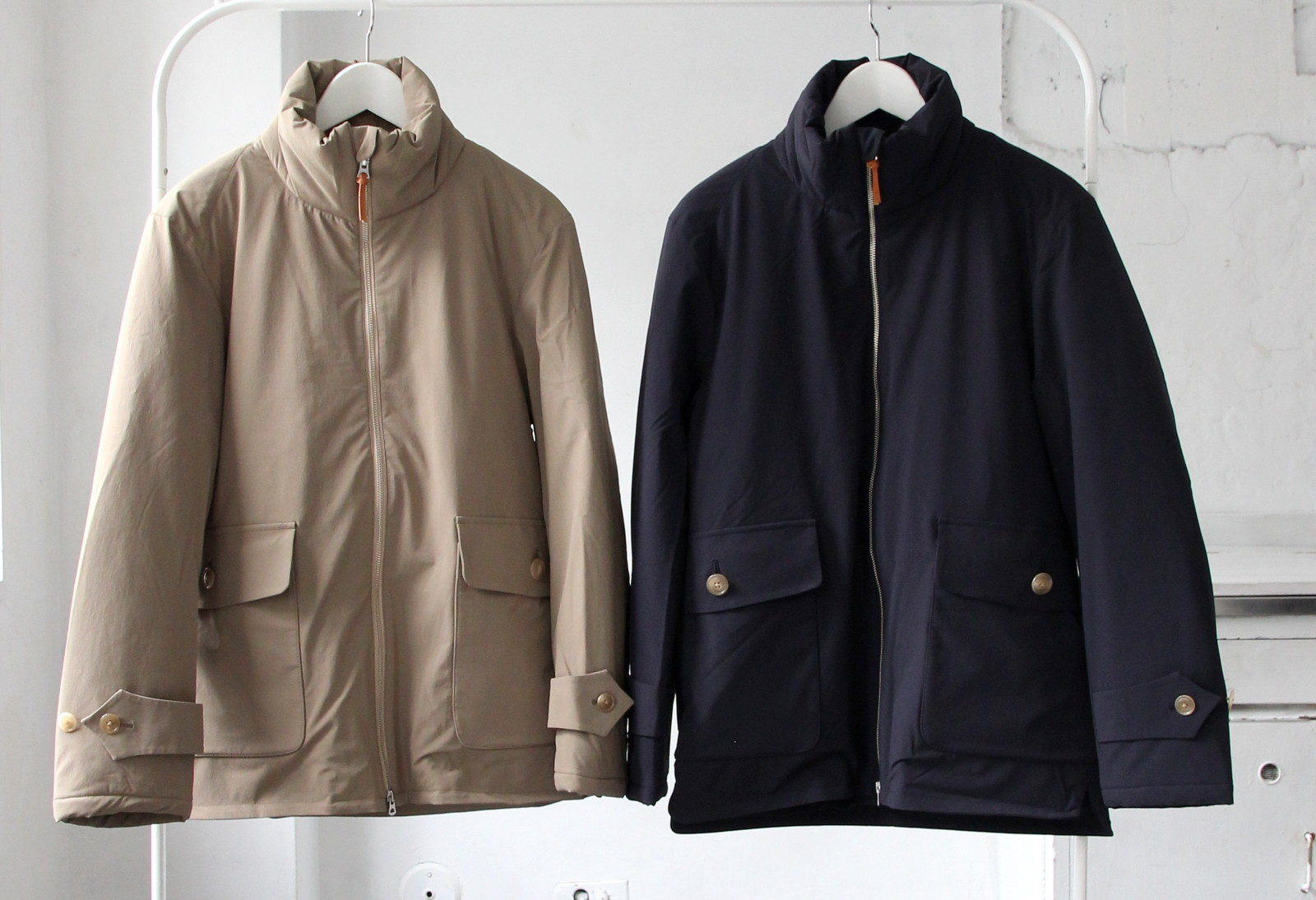 Thinsulate Stand Collar Coat_c0379477_16181739.jpg