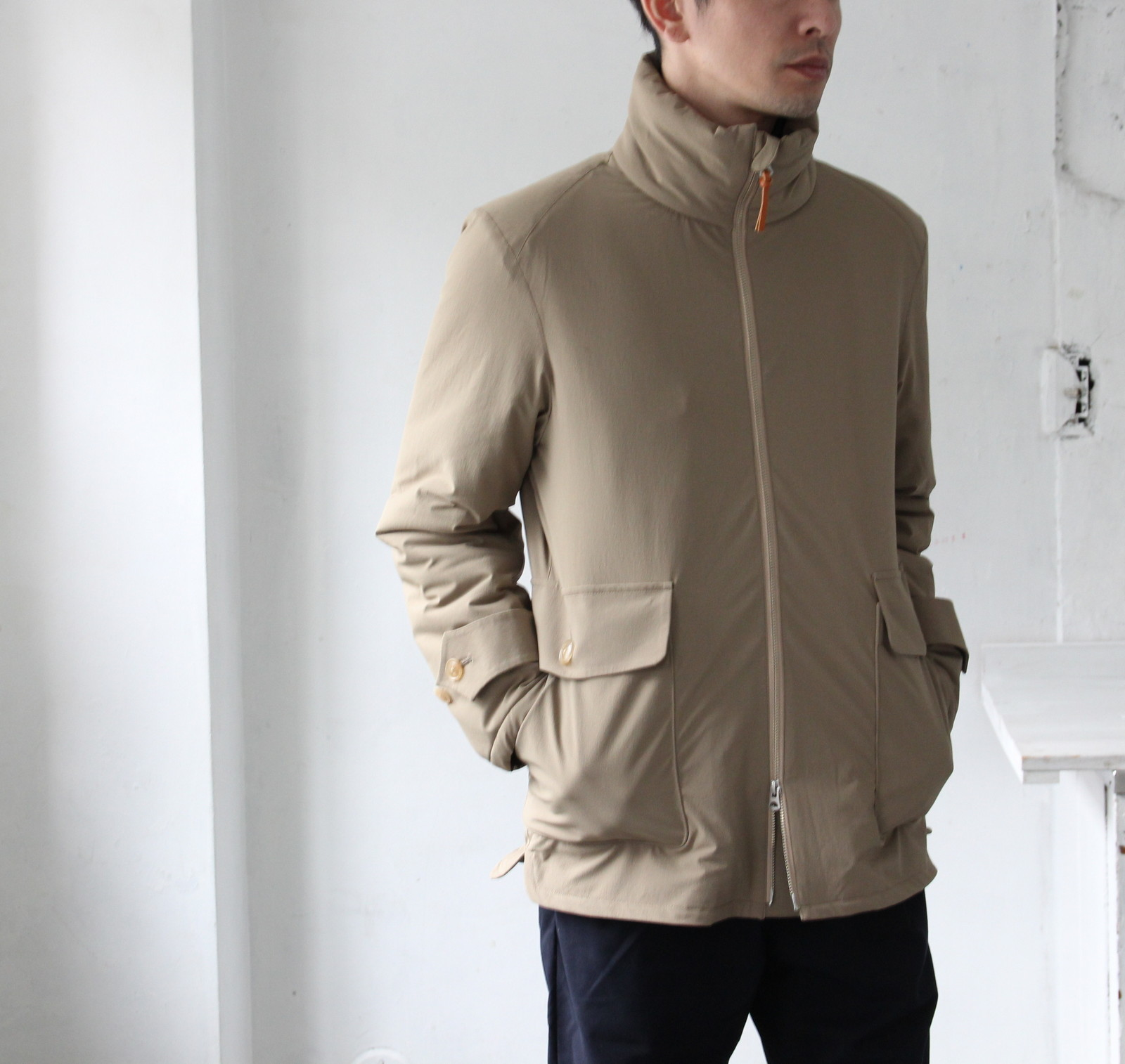 Thinsulate Stand Collar Coat_c0379477_16192869.jpg