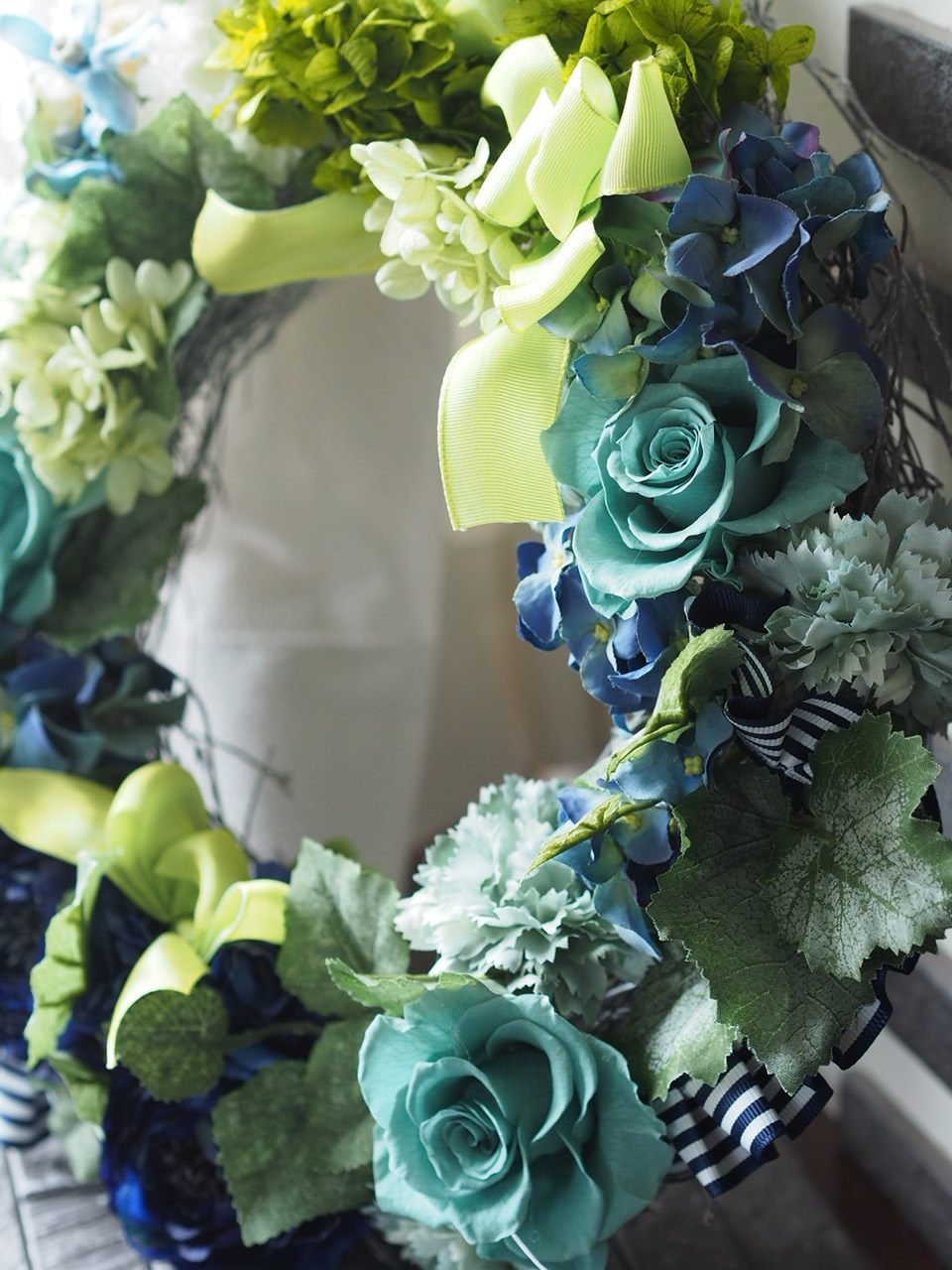 【Blue/Green/Wedding gift】_d0144095_20031979.jpg
