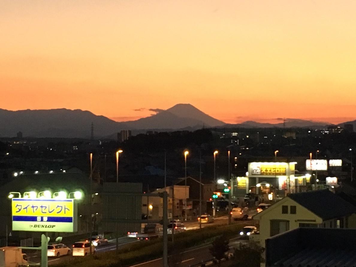 11/17 今日の富士山_b0042308_22204499.jpg