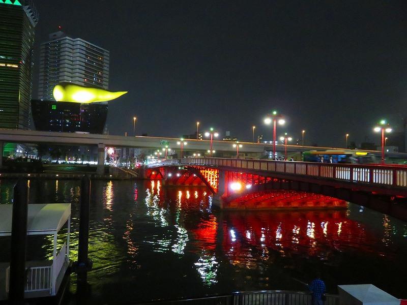 夜の浅草「雷門・吾妻橋」ほか20181112_e0237645_13395824.jpg