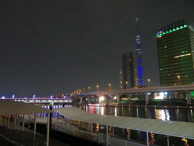 夜の浅草「雷門・吾妻橋」ほか20181112_e0237645_13395851.jpg
