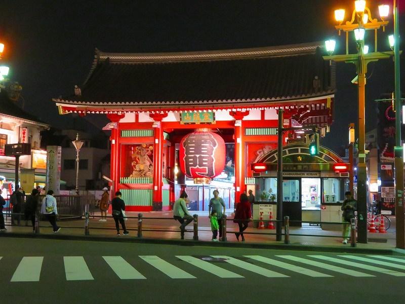 夜の浅草「雷門・吾妻橋」ほか20181112_e0237645_13395879.jpg