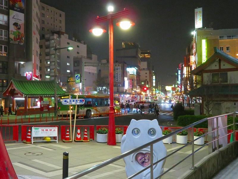 夜の浅草「雷門・吾妻橋」ほか20181112_e0237645_13395896.jpg