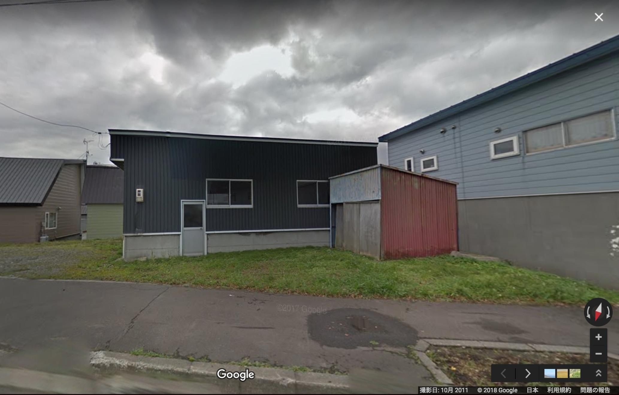 ストリートビューで見る、だいちゃんガレージの過去と現在_e0159646_07004832.jpg