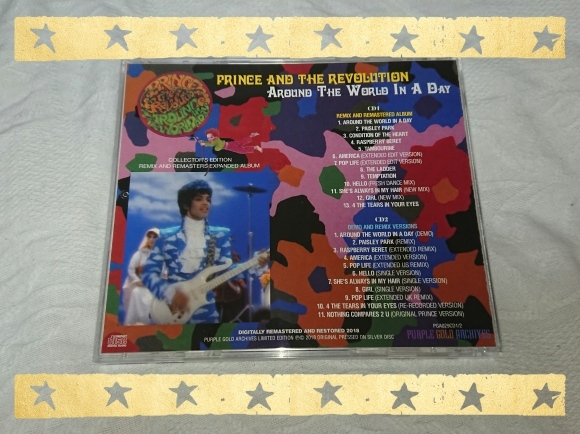 PRINCE AND THE REVOLUTION / AROUND THE WAORLD IN A DAY COLLECTOR\'S EDITION_b0042308_09571227.jpg