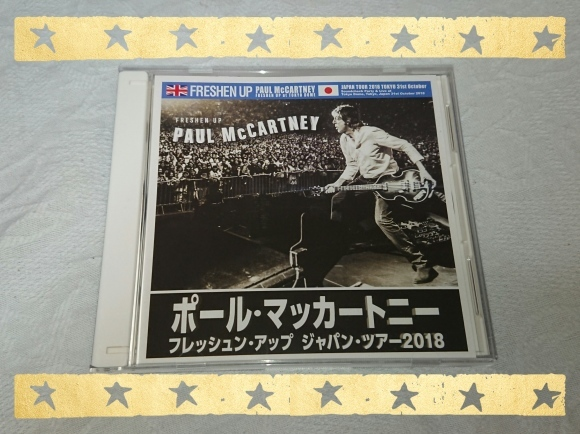 PAUL McCARTNEY / FRESHEN UP JAPAN TOUR 2018 TOKYO DOME 1st_b0042308_10235338.jpg