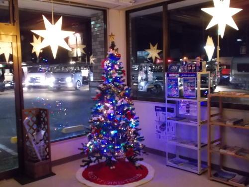 クリスマスツリー飾りました!_b0311020_18444975.jpg