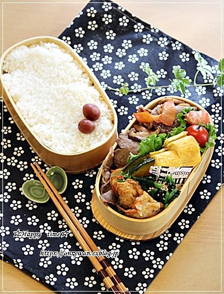 豚の生姜焼き弁当と作りおき♪_f0348032_18080742.jpg