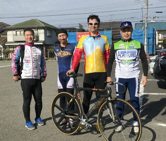 風路駆ション448 明石自転車競技場バンク練習会 MBK&ロードバイクPROKU_b0225442_15342906.jpg