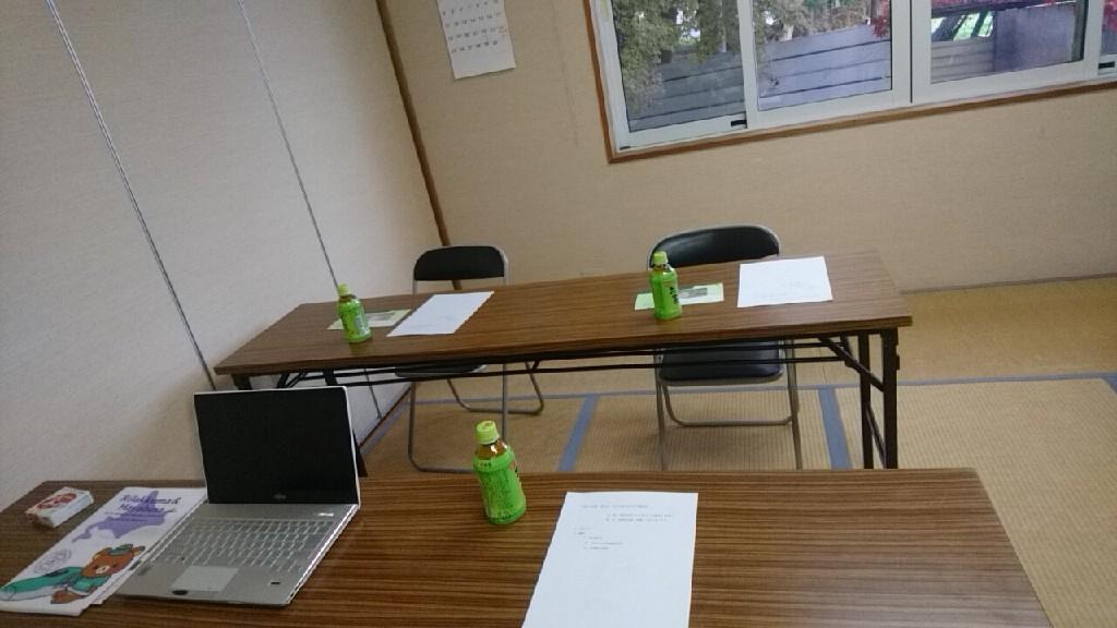 これから会議。桔梗町会館に入りました!_b0106766_14571603.jpg