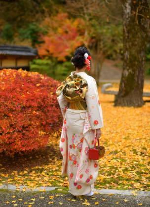 智頭町の石谷家住宅へ.......紅葉シーズンの日曜日とあって ......._b0194185_21283624.jpg