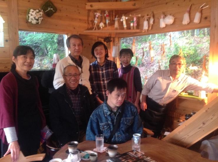 丹波でヨーコさんの展覧会_c0100195_12595962.jpg