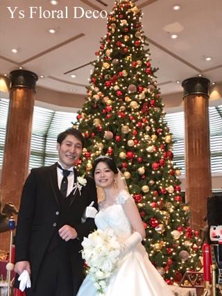 ユリとバラのキャスケードブーケ ウェスティンホテル東京の新婦さんへ_b0113510_18302242.jpg