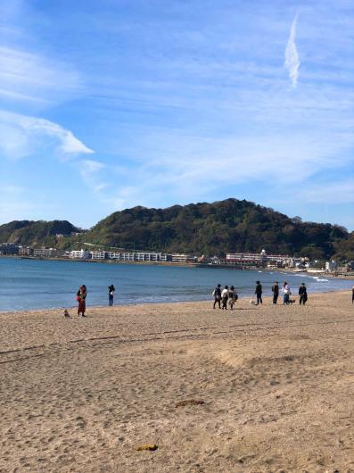 週末は由比ヶ浜のお散歩_b0310424_12195040.jpg