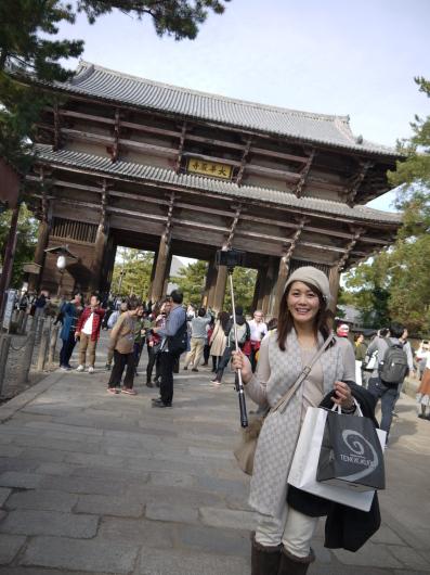 昔の生徒さんが奈良在住・・今日は奈良です_a0123133_14084957.jpg