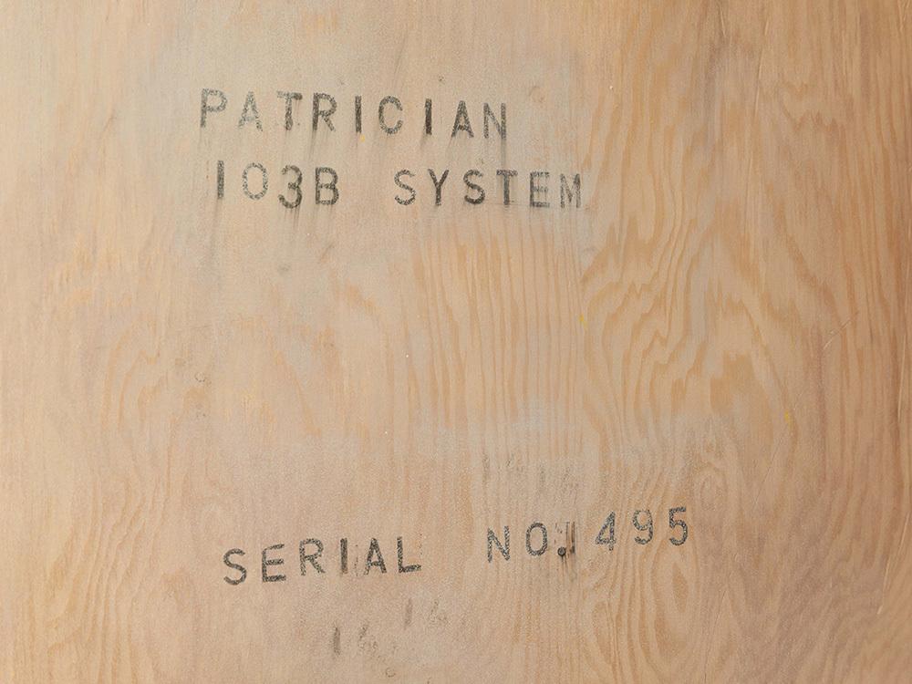 エレクトロボイス ザ・パトリシアン 103B。_b0262449_19165352.jpg