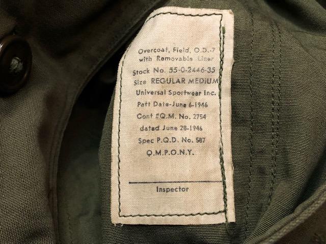 11月24日(土)大阪店スーペリア入荷!!#2 U.S.Military編Part2!!U.S.MilitaryCoat&LinerJkt!!(マグネッツ大阪アメ村店)_c0078587_16123936.jpg
