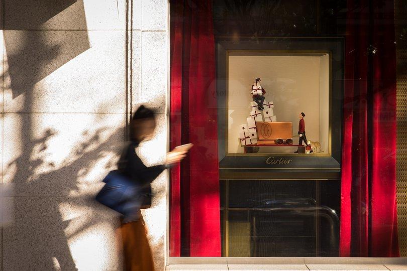 クリスマスが近づくショッピングストリート_d0353489_09543116.jpg