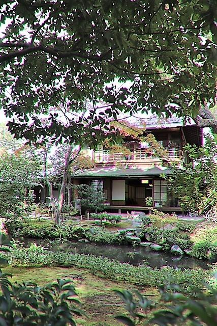 藤田八束の京都探訪@秋の京都は素晴らしい、山形有朋の別邸「無鄰菴の秋」を楽しむ_d0181492_22302011.jpg