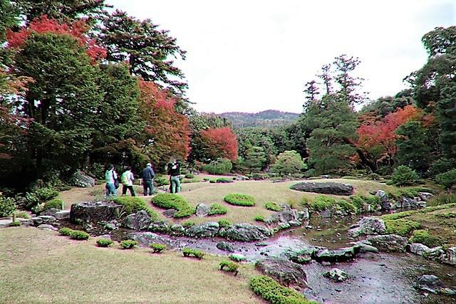 藤田八束の京都探訪@秋の京都は素晴らしい、山形有朋の別邸「無鄰菴の秋」を楽しむ_d0181492_22310127.jpg