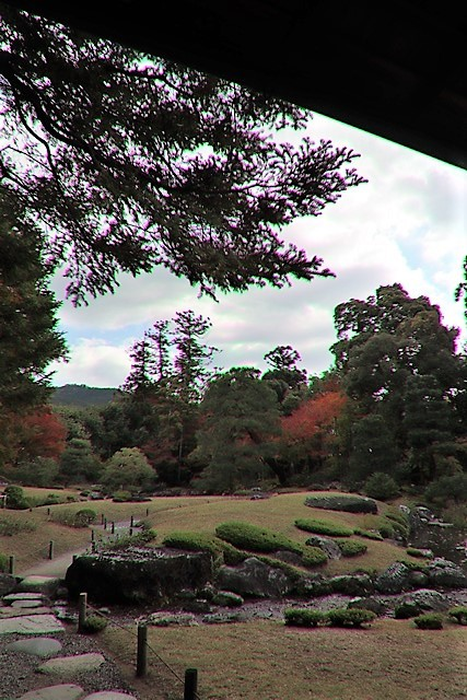 藤田八束の京都探訪@秋の京都は素晴らしい、山形有朋の別邸「無鄰菴の秋」を楽しむ_d0181492_22311698.jpg