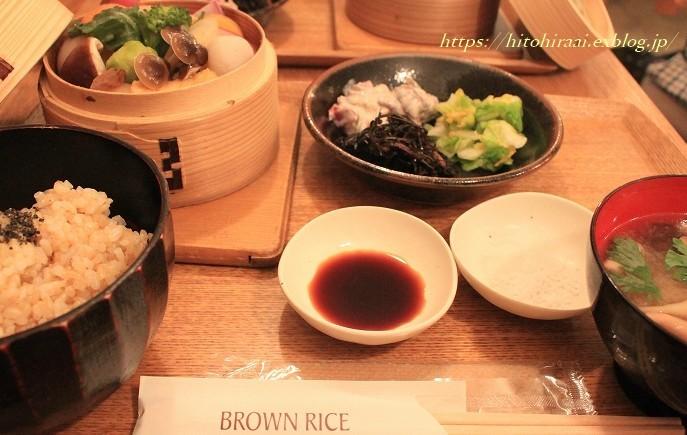 BROWN RICE @表参道_f0374092_20472324.jpg