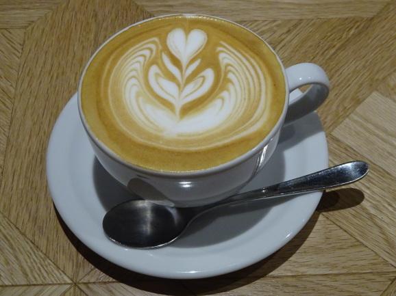 移転後のFEBRUARY CAFEさんでフレンチトースト_e0230011_17233205.jpg
