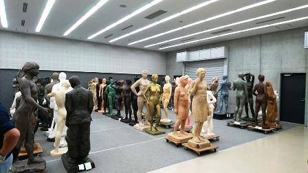 作業日誌(「改組新第5回日展」第3科彫刻搬入作業)_c0251346_16501827.jpg