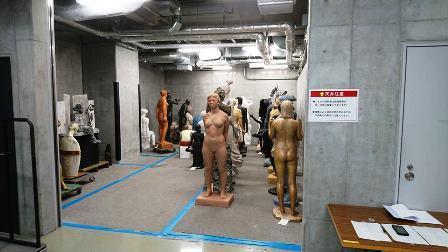 作業日誌(「改組新第5回日展」第3科彫刻搬入作業)_c0251346_16502511.jpg