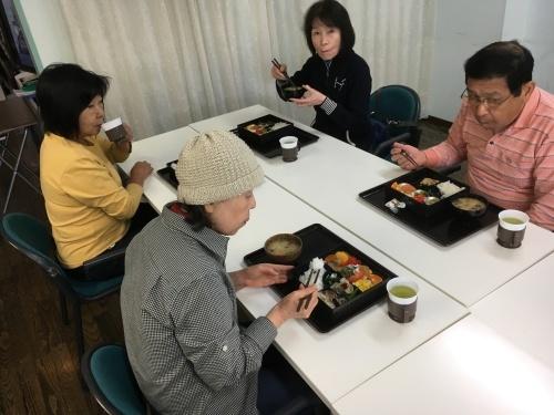 編み物&ゴルフ教室&書道教室_c0113948_14022125.jpg