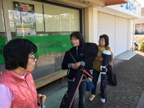 編み物&ゴルフ教室&書道教室_c0113948_14023819.jpg