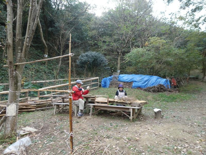 つる編みイベントの準備・・・孝子の森_c0108460_18064110.jpg