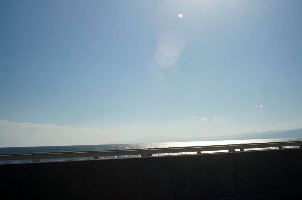 箱根の湯から片瀬江ノ島経由で武蔵新田「酒菜亭」10/29_c0180686_20353972.jpg