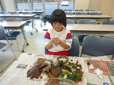 H30.Joyっ子塾 リース作り_d0027501_17520820.jpg