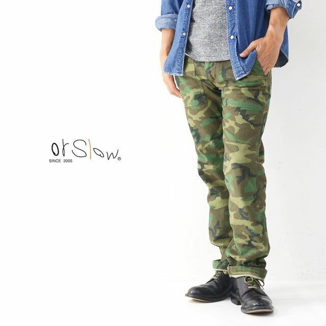 orslow[オアスロウ] SLIM FIT FATIGUE [01-5032-WLC] スリムフィット ファティーグ パンツ MEN\'S_f0051306_10261214.jpg