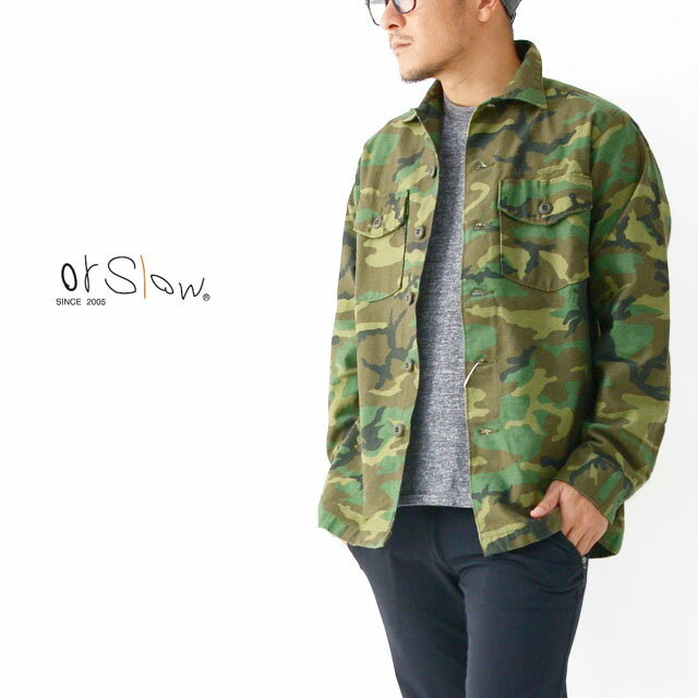 orslow [オアスロウ] US ARMY SHIRT [03-8045-WLC] ユーエスアーミーシャツ MEN\'S_f0051306_10331608.jpg
