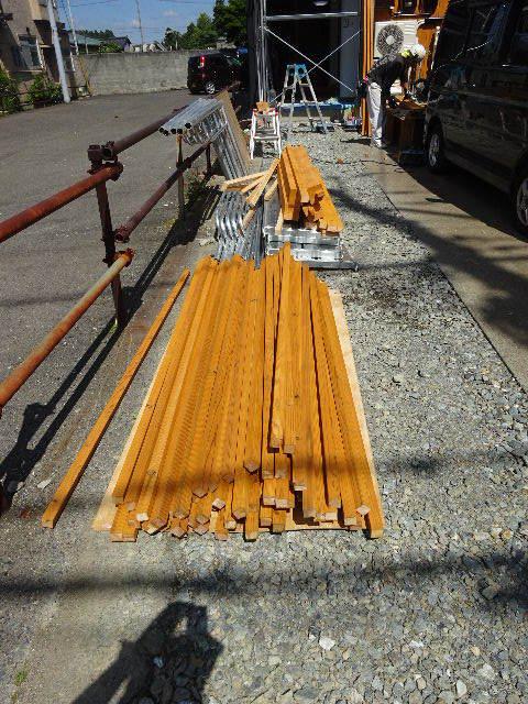 本町通り 住宅建替え工事 完成へ!_f0105112_04423783.jpg