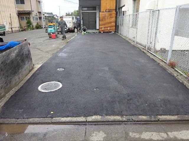 本町通り 住宅建替え工事 完成へ!_f0105112_05001607.jpg